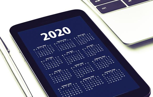 calendrier éditorial 2020, anticiper sa communication